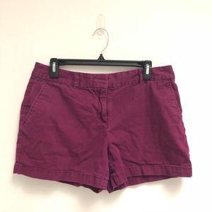 Purple Loft shorts size 8 original